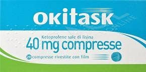 Okitask 20 Compresse Rivestite 40mg