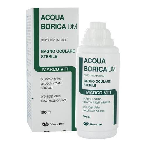Acqua Borica Bagno Oculare 500ml