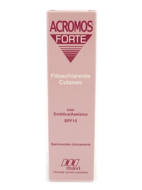 Acromos Forte Schiarente Crema 15ml
