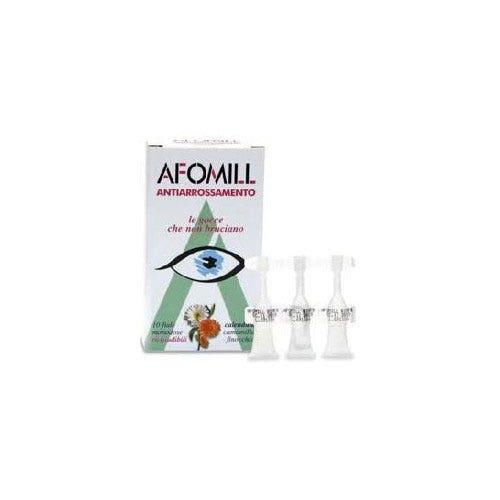Afomill Collirio Antiarrossamenti 10 Flaconi 0,5ml