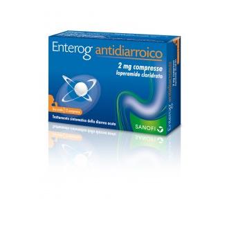Enterogermina Antidiarroico 12 Compresse 2mg