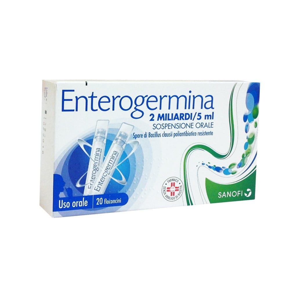 Enterogermina 20 flaconi 2mld/5ml