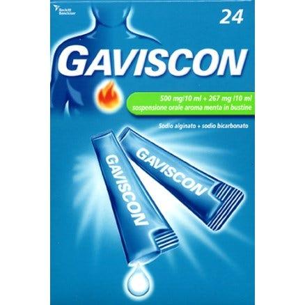 Gaviscon 24 Bustine 500+267mg/10ml