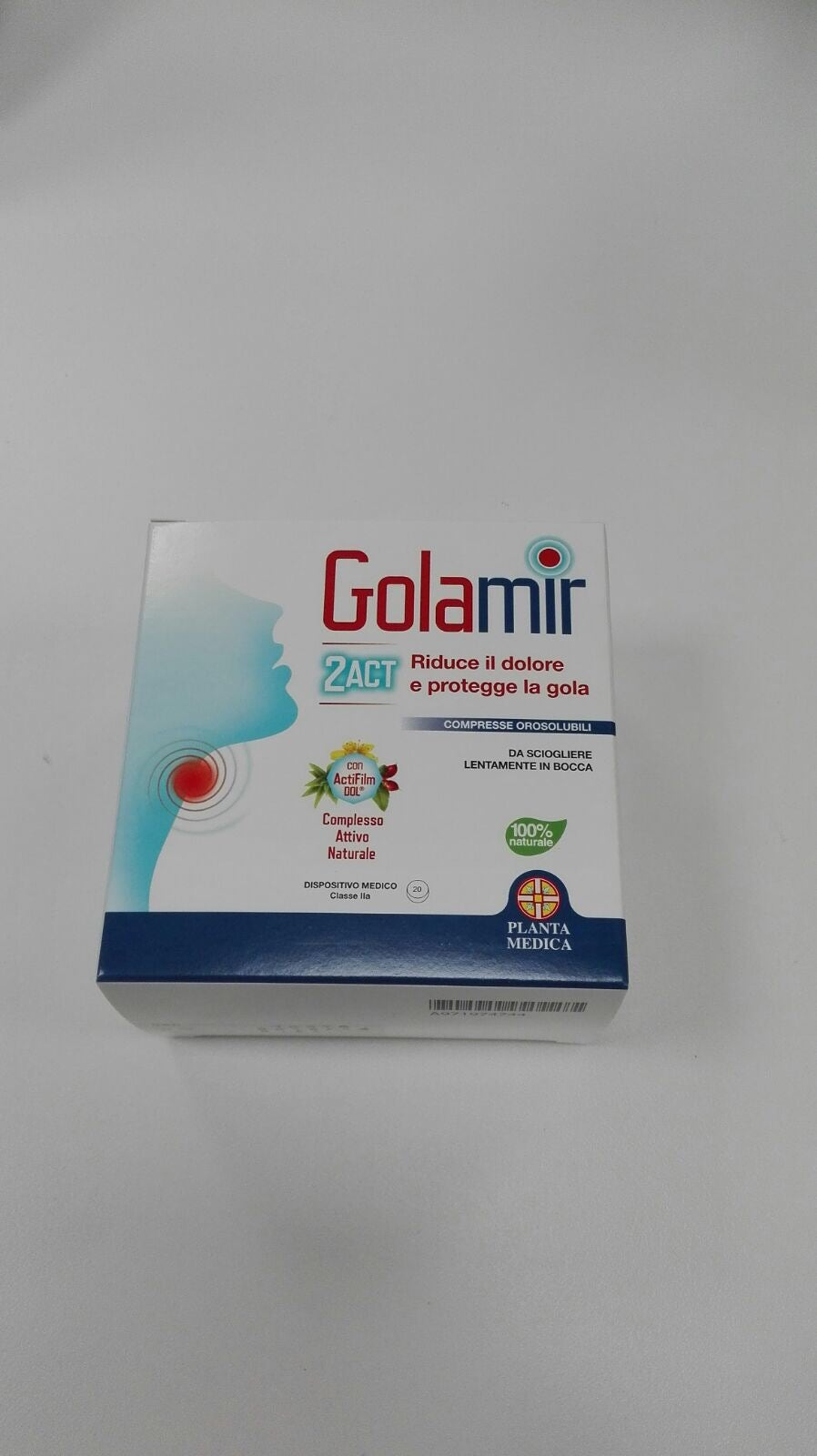 Golamir  2act  20 Compresse Orosolubili