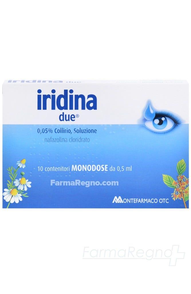 Iridina Due Collirio Monodose 10 Flaconi 0,5ml 0,05%