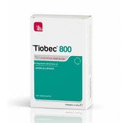 Tiobec 800 Fast Slow 20 Compresse 32g