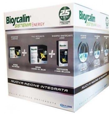 Bioscalin Energy Compresse+Fiale+Shampoo Pro