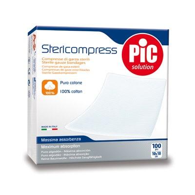 Stericompress - garze sterili 10x10 cm - 100 pezzi