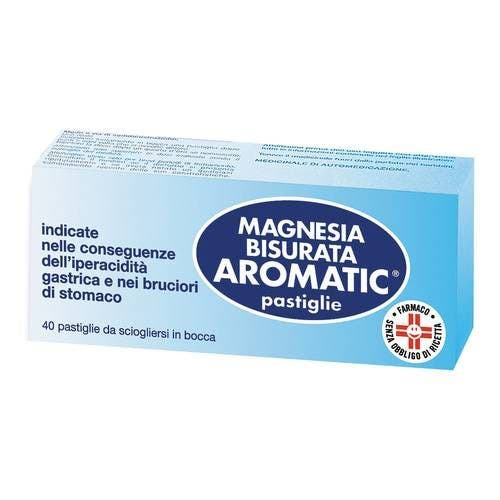Magnesia Bisurata Aromatic* 40pastiglie