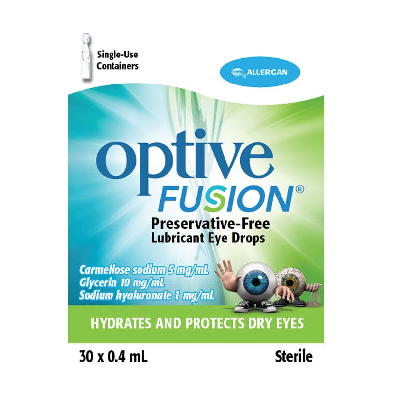 Optive Fusion UD 30 Flaconcini 0,4ml