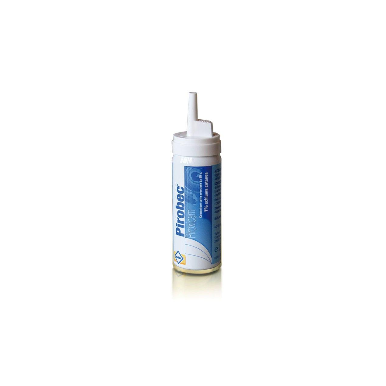 Pirobec Schiuma Cutanea 50g 1%