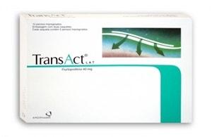 Transact Lat 10 Cerotti Medicati 40mg